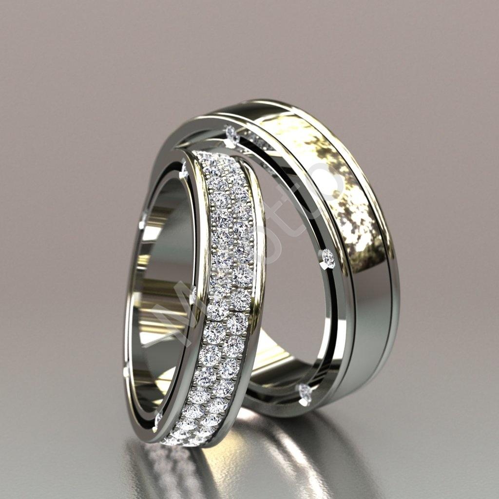 ... Обручальные кольца из белого золота с бриллиантами 188 000 ₽ 2ae34fbf6df