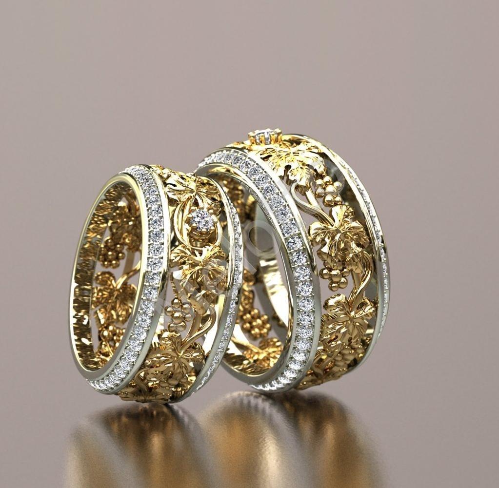 2c7dbfab5fe1 Двухцветные обручальные кольца 62 000 ₽ · Эксклюзивные обручальные кольца  из комбинированного золота 79000 ₽