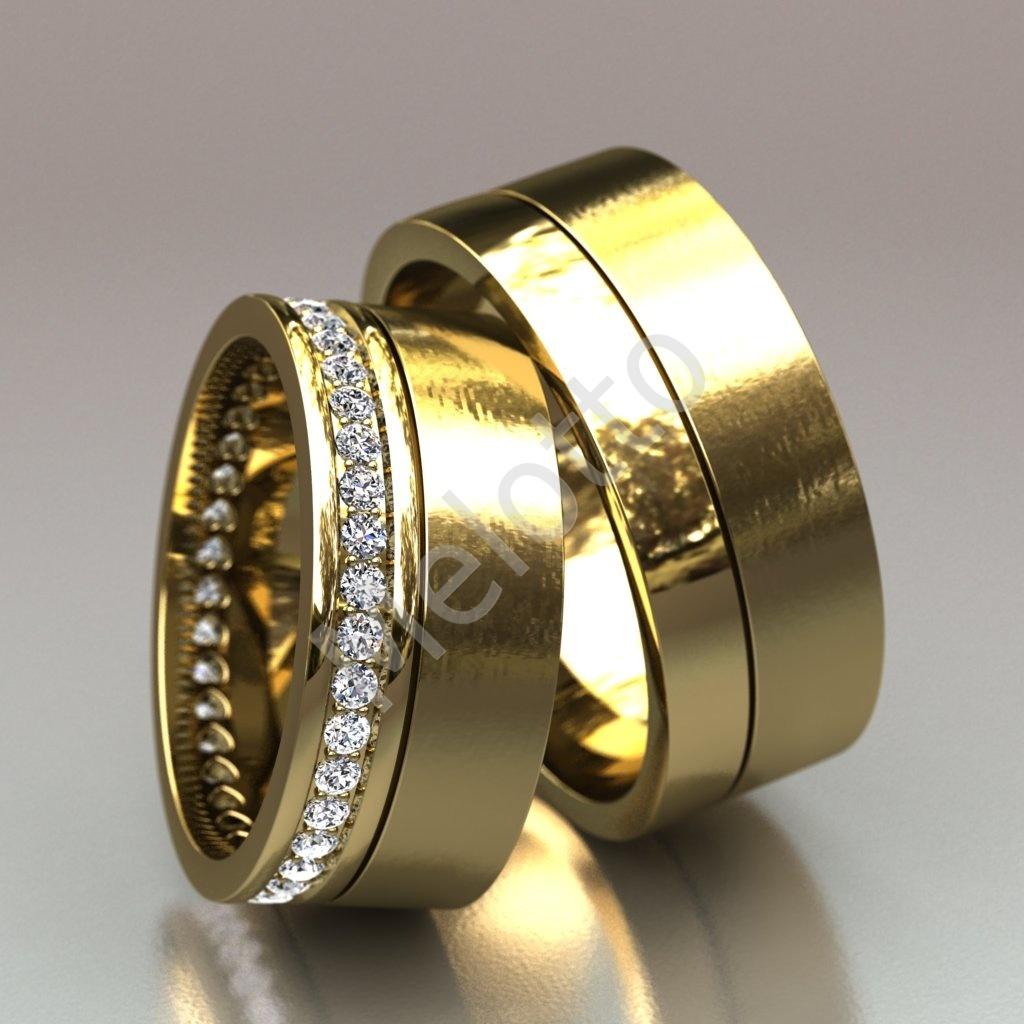 Обручальные кольца из желтого золота  116 000 руб. 8026d22f89bc2