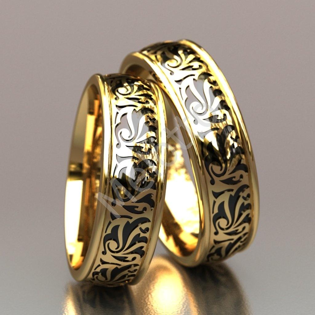 02af4351513b Изысканные обручальные кольца с эмалью 119000 ₽ · Обручальные кольца с  эмалью 86000 ₽