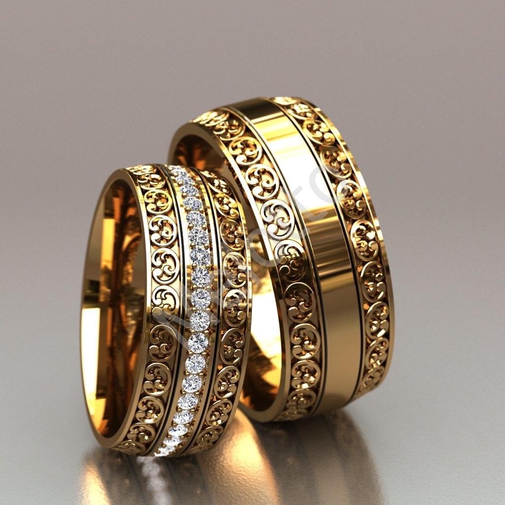 efc75e15ed03 Обручальные кольца - полный каталог сайта ювелирной мастерской Melotto