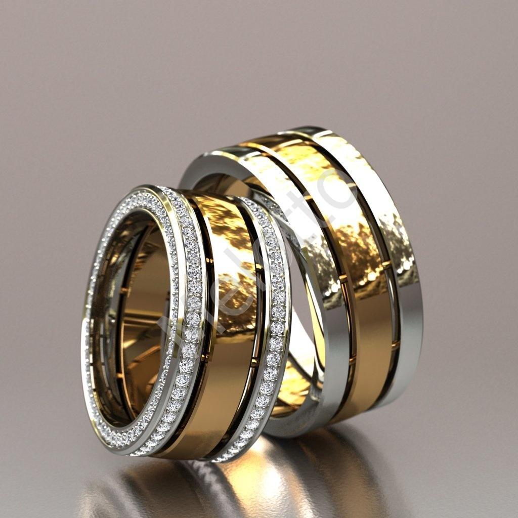 b897f9bfd4ae Широкие обручальные кольца   Московская ювелирная мастерская