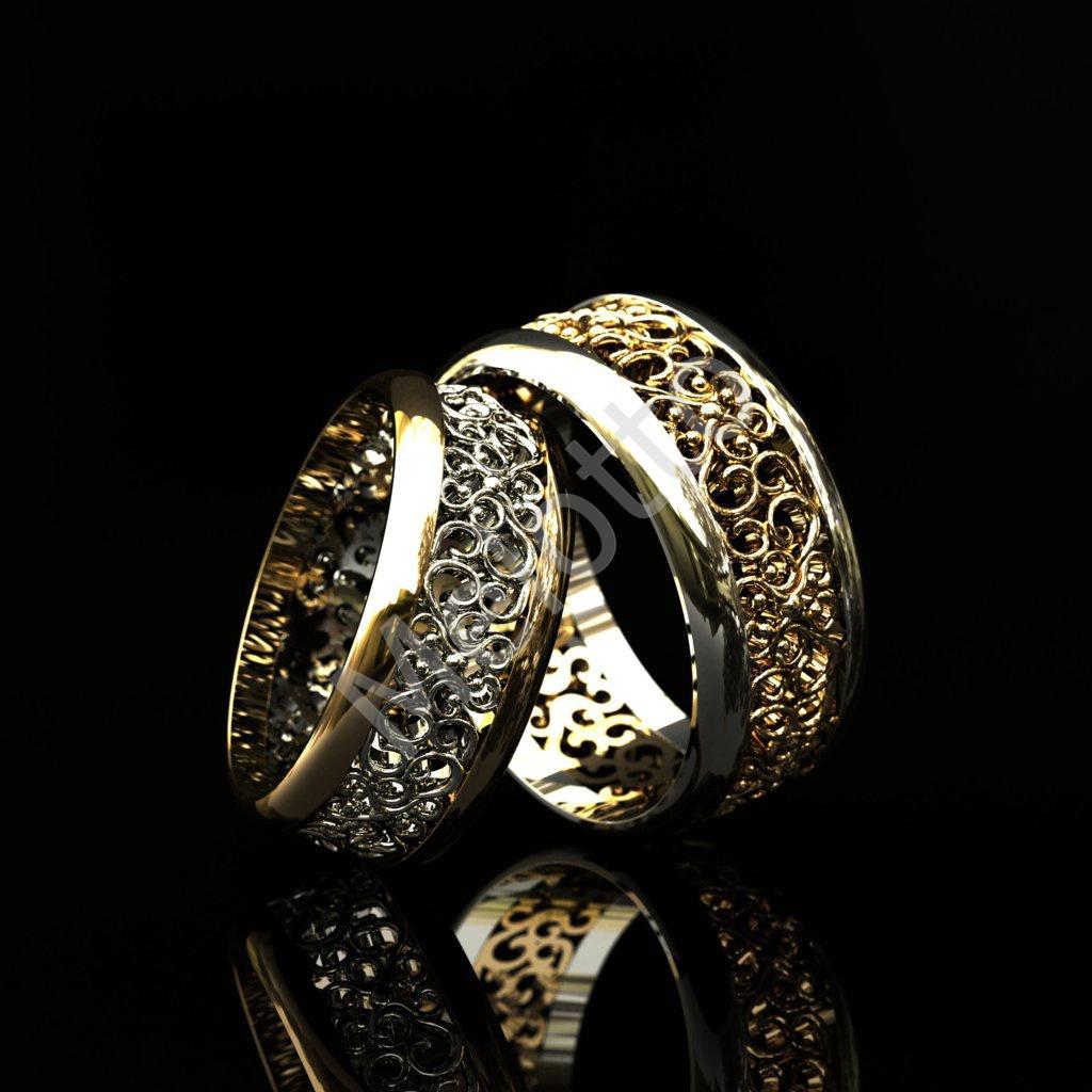 Винтажные обручальные кольца Бриллиантовое сердце 77700₽ · Винтажные обручальные  кольца с орнаментом 59000₽ 84e9226f159